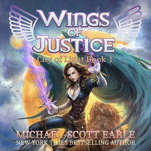 Wings of Justice audiobook cover art