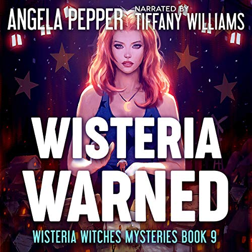 Wisteria Warned audiobook cover art