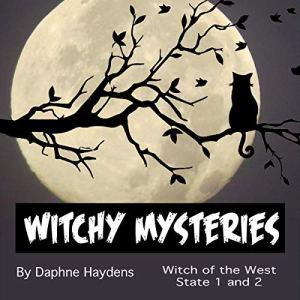 Witchy Mysteries audiobook cover art