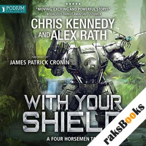 With Your Shield audiobook cover art