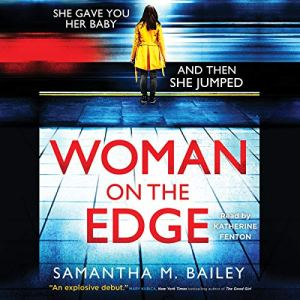 Woman on the Edge audiobook cover art