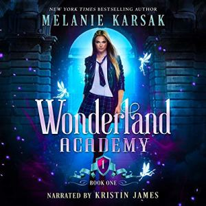 Wonderland Academy audiobook cover art