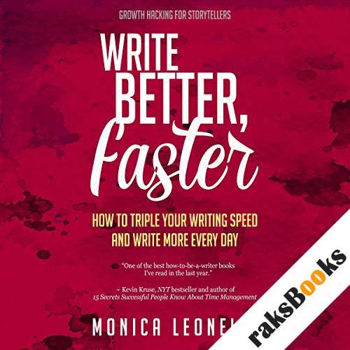 Write Better, Faster audiobook cover art