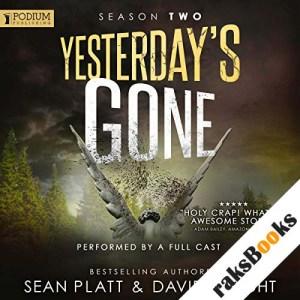 Yesterday's Gone: Season 2 audiobook cover art