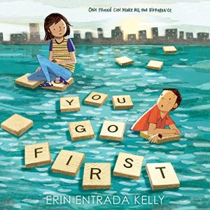 You Go First audiobook cover art