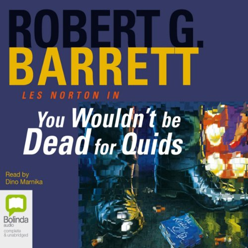 You Wouldn't Be Dead for Quids audiobook cover art