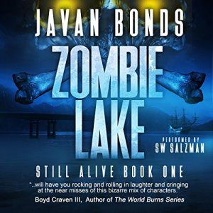 Zombie Lake audiobook cover art