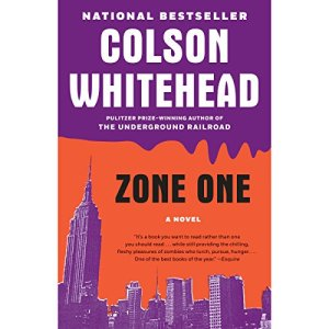 Zone One audiobook cover art
