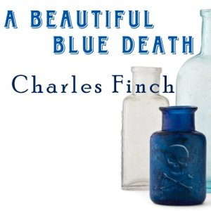 A Beautiful Blue Death Audiobook By Charles Finch cover art