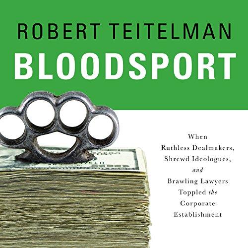 Bloodsport Audiobook By Robert Teitelman cover art