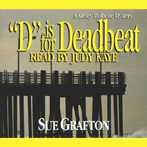 D is for Deadbeat Audiobook By Sue Grafton cover art