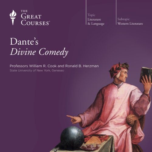 Dante's Divine Comedy Audiobook By The Great Courses, Ronald B. Herzman, William R. Cook cover art
