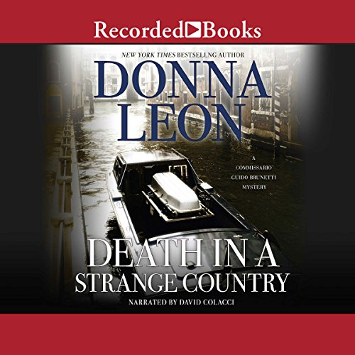 Death in a Strange Country Audiobook By Donna Leon cover art