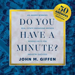 Do You Have a Minute? Audiobook By John M. Giffen cover art