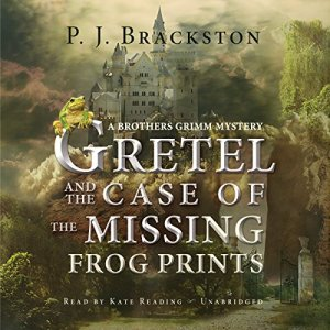 Gretel and the Case of the Missing Frog Prints Audiobook By P. J. Brackston cover art