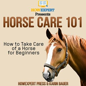 Horse Care 101: How to Take Care of a Horse for Beginners Audiobook By HowExpert Press, Karin Bauer cover art