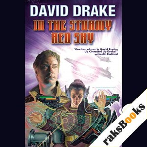 In the Stormy Red Sky Audiobook By David Drake cover art