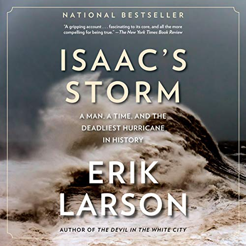 Isaac's Storm Audiobook By Erik Larson cover art