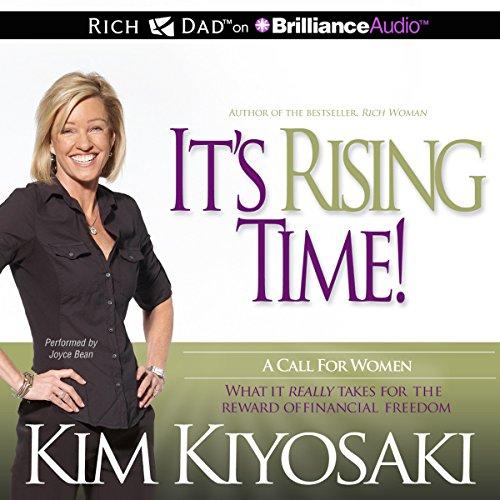 It's Rising Time! Audiobook By Kim Kiyosaki cover art