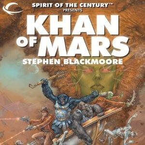 Khan of Mars Audiobook By Stephen Blackmoore cover art