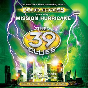 Mission Hurricane Audiobook By Jenny Goebel cover art