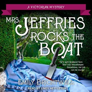 Mrs. Jeffries Rocks the Boat Audiobook By Emily Brightwell cover art