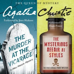'Murder at the Vicarage' & 'The Mysterious Affair at Styles' Audiobook By Agatha Christie cover art