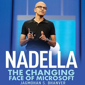 Nadella Audiobook By Jagmohan S. Bhanver cover art