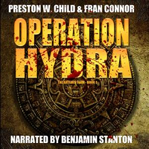 Operation Hydra Audiobook By P. W. Child, Fran Connor cover art