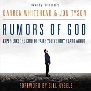 Rumors of God Audiobook By Darren Whitehead, Jon Tyson cover art