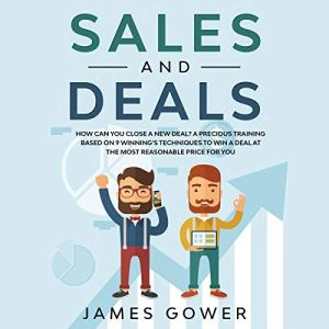 Sales and Deals Audiobook By James Gower cover art
