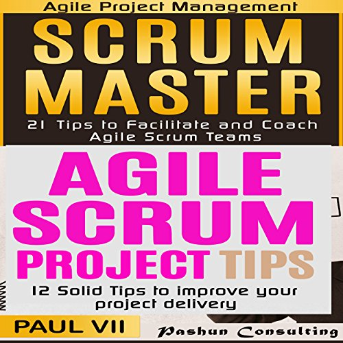 Scrum Master Box Set: 21 Tips to Coach and Facilitate & 12 Solid Tips for Project Delivery Audiobook By Paul VII cover art