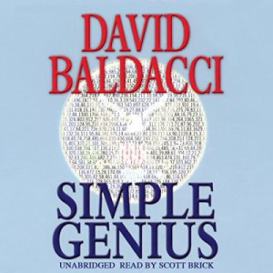 Simple Genius Audiobook By David Baldacci cover art
