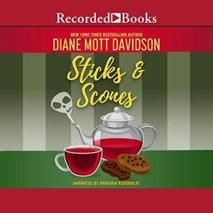 Sticks and Scones Audiobook By Diane Mott Davidson cover art