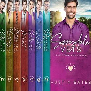 Sunnydale Vets: A Contemporary Mpreg Romance Bundle Audiobook By Austin Bates cover art