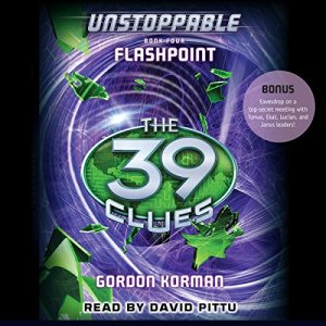 The 39 Clues: Flashpoint Audiobook By Gordon Korman cover art