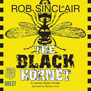 The Black Hornet Audiobook By Rob Sinclair cover art
