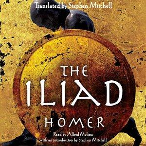The Iliad Audiobook By Homer, Stephen Mitchell - translator cover art