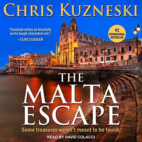 The Malta Escape Audiobook By Chris Kuzneski cover art