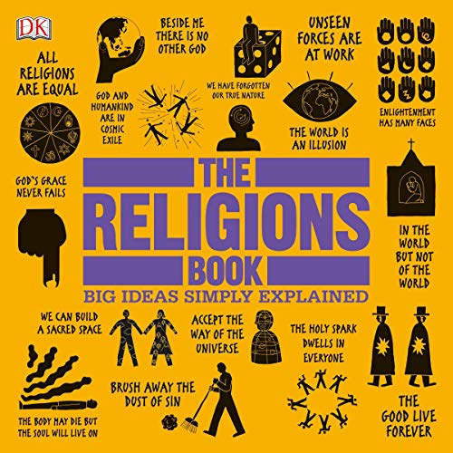 The Religions Book Audiobook By DK cover art