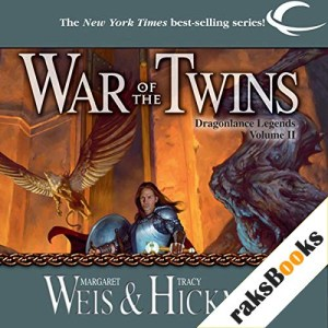 War of the Twins Audiobook By Margaret Weis, Tracy Hickman cover art