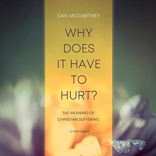 Why Does It Have to Hurt? Audiobook By Dan McCartney cover art