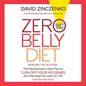 Zero Belly Diet Audiobook By David Zinczenko cover art
