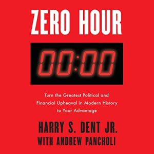 Zero Hour Audiobook By Harry S. Dent Jr., Andrew Pancholi cover art