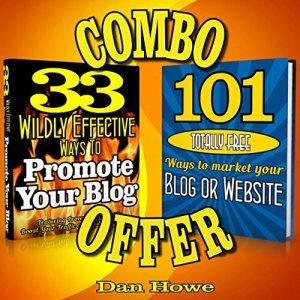 2 for 1 Blog & Website Promotion Combo Deal Audiobook By Dan Howe cover art