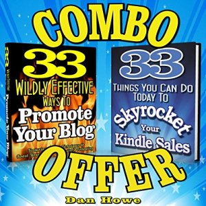 2 for 1 Combo - Kindle & Blog Promotion Offer Audiobook By Dan Howe cover art