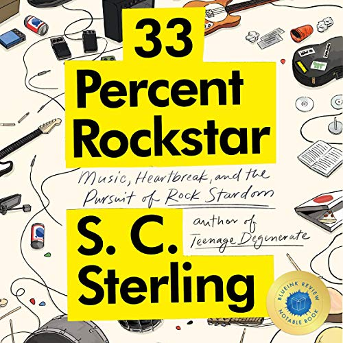 33 Percent Rockstar Audiobook By S.C. Sterling cover art