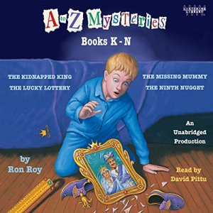 A to Z Mysteries: Books K-N Audiobook By Ron Roy cover art