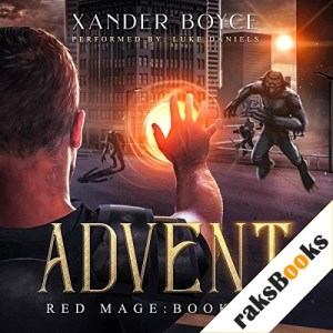Advent Audiobook By Xander Boyce cover art