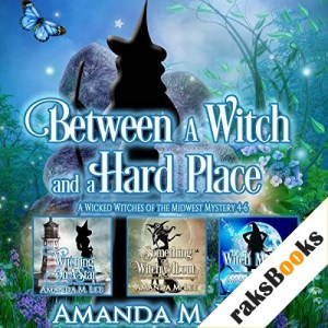 Between a Witch and a Hard Place Audiobook By Amanda M. Lee cover art